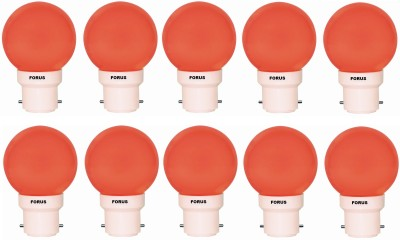 0.5 W FLZR22PL LED Bulb B22 Red (pack of 10)