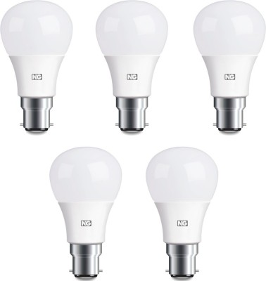8W Cool White LED Bulbs (Pack Of 5)