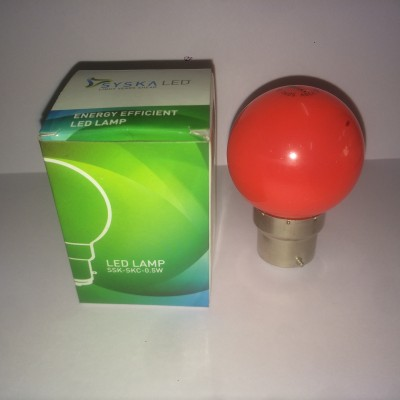 0.5-W-B22-LED-Bulb-(Red)