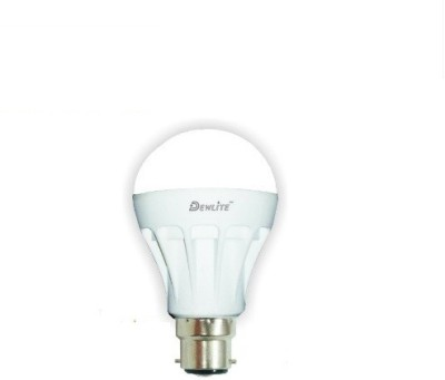 Dewlite-3W-B22-Cool-Light-6500K-White-LED-G2-Bulb-(Plastic)