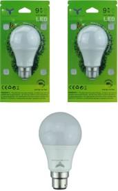 9W LED Bulbs (White, Pack of 2)