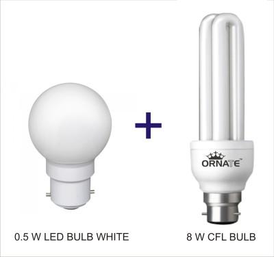 Ornate 0.5 W, 8 W CFL Bulb Image