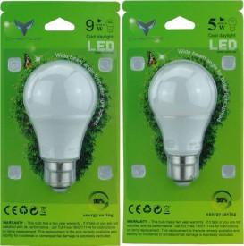 0.5W LED Bulb (Multi Colour, Pack of 5)