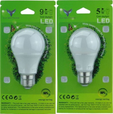 0.5W LED Bulb (Multi Colour, Pack of 5)