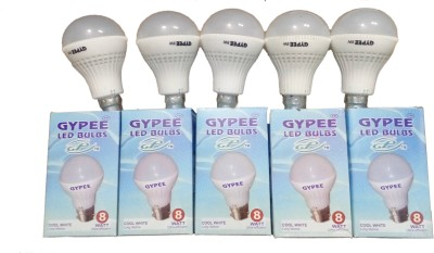 8W G08 LED Bulb (White, Set of 5)