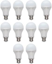 15W LED Bulb (White, Pack of 10)