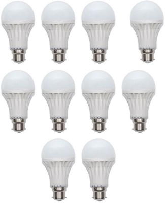 15W LED Bulb (White, Pack of 10)