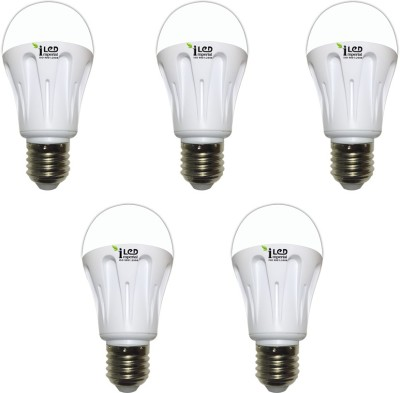 10W-E27-1000L-LED-Aluminium-Bulb-(Yellow,-Pack-of-5)-