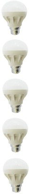 Reli-Power-5-W-B22-LED-Bulb-(White,-Pack-of-5)