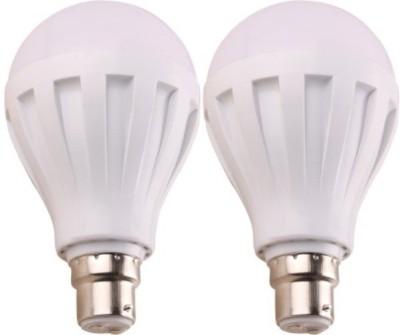 Ally-5W-B22-LED-Bulb-(White,-Set-Of-2)