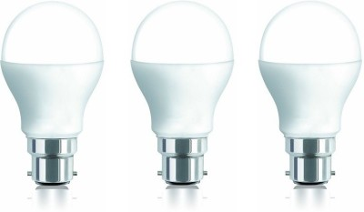 9W 806 Lumens Cool White LED Bulb (Pack of 3)