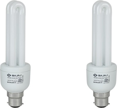 Ecolux 2U 15W CFL Bulb (Pack of 2)