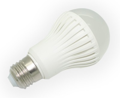 7W LED Bulb (Spiral, White)