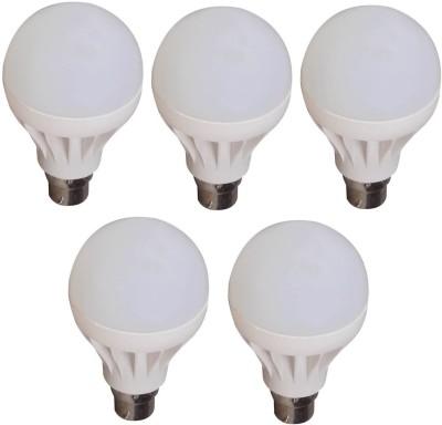 Lister-9W-White-LED-Bulb-(Pack-of-5)