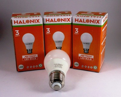 3W White LED Bulb (Pack of 3)