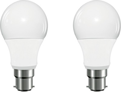 7 W B22 LED Bulb (White, Pack of 2)