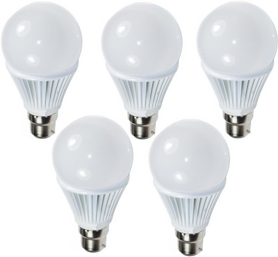 Ultra 9W White LED Bulb (Pack of 5)