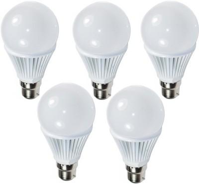 Ultra 9W White LED Bulb (Pack of 5)