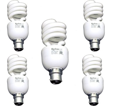 20-W-SP-Lamp-B22-Cap-CFL-Bulb-(Cool-Day-Light,-Pack-of-5)