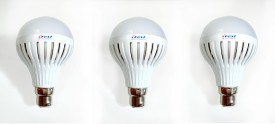 12W B22 LED Light Bulb (Set Of 3)