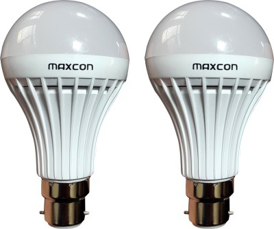 7W Cool White LED Bulb (Pack of 2)