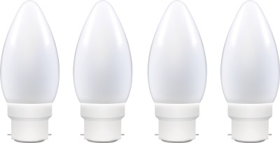 0.5 W LED Decomini Bulb B22 White (pack of 4)