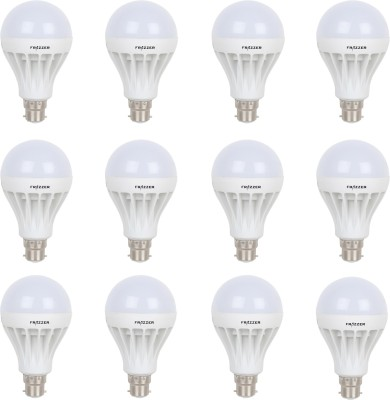9W White LED Bulbs (Pack Of 12)