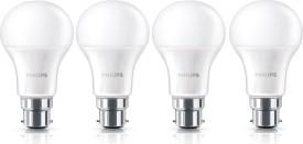 9W-B22-LED-Bulb-(Yellow,-Pack-Of-4)