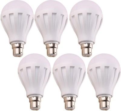 3W-B22-LED-Bulb-(White,-Set-Of-6)
