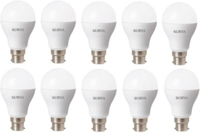 12W B22D 1260 Lumens White LED Bulbs (Pack of 10)