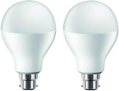 9W White LED Bulb (Pack of 2)