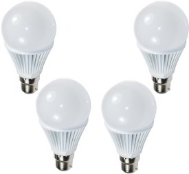 Ultra 9W White LED Bulb (Pack of 4)