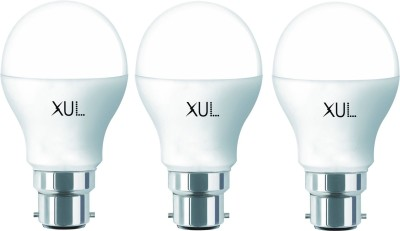 9W White LED Bulbs (Pack Of 3)