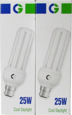 Greaves-25-W-1400L-CFL-Bulb-(Cool-Day-Light,-Pack-of-2)