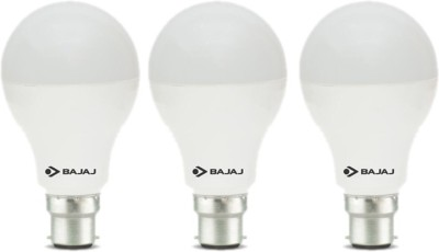 12 W LED CDL B22 HPF Bulb White (pack of 3)