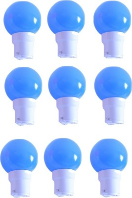 0.5W Blue LED Bulb (Pack of 9)