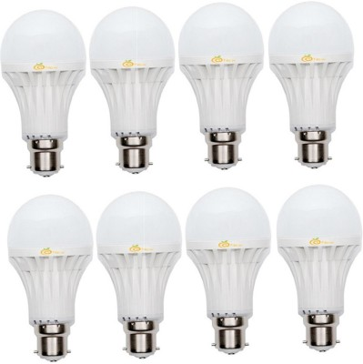 9W 400 lumens Cool Day Ligh LED Bulb (Pack Of 8)