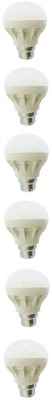 5-W-B22-LED-Bulb-(White,-Pack-of-6)