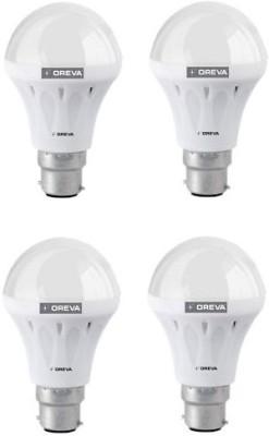 10W White LED Bulb (Pack Of 4)