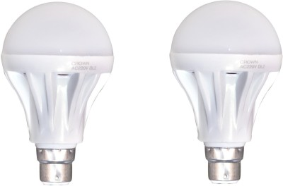 15 W B22 LED Bulb (White, Pack of 2)
