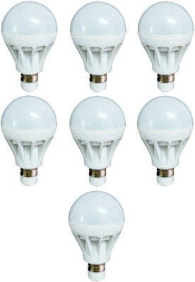 7W Luminent White LED Bulb (Pack of 7)