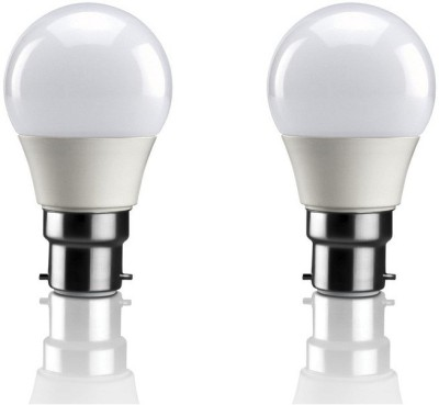 3W B22 LED Bulb (Warm White, Set Of 2)