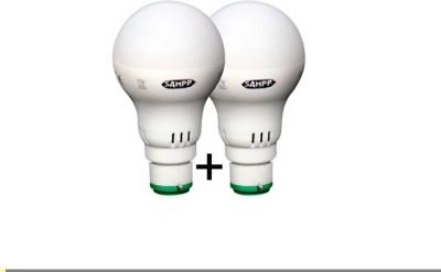 5W B22 LED Bulb (White, Yellow, Set of 2)