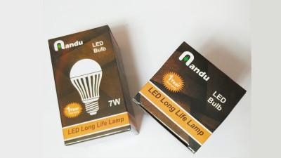 7W White LED Bulb (Pack of 10)