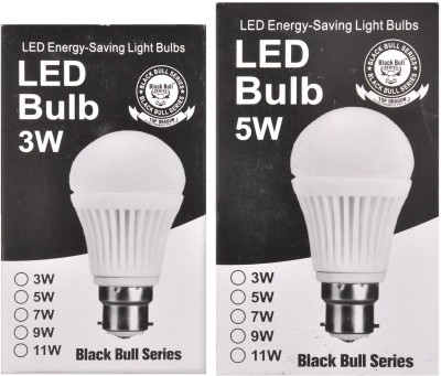3W,5W-B22-LED-Bulb-(White,-Set-Of-2)