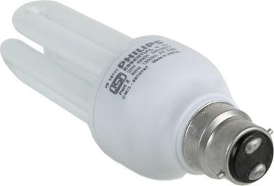 Essential B22 23W CFL Bulb (White, Pack of 4)