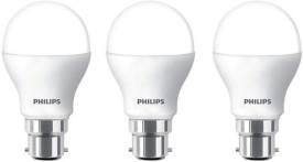 9 W LED 6500K Cool Day Light Bulb B22 White (pack of 3)