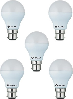 7-W-LED-CDL-B22-CL-White-Bulb-(Pack-of-5)-