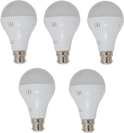 15W White LED Bulbs (Pack Of 5)