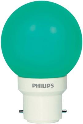 0.5 W LED Deco B22 IND Bulb Green (pack of 6)